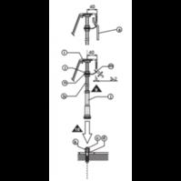 Крепление панели RAVAK Rosa/ASYMMETRIC II универсальное (B23000100N)