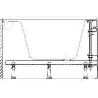 Опора, ножки для ванны RAVAK Rosa/ASYMMETRIC II универсальные (CY55000000)